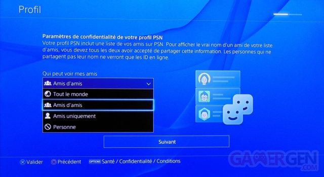 PlayStation 4 tuto tutoriel compte psn partage 11
