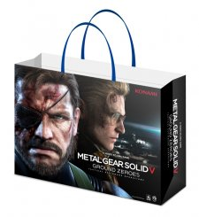 PlayStation 4 x Metal Gear Solid V Ground Zeroes sac de shopping 1