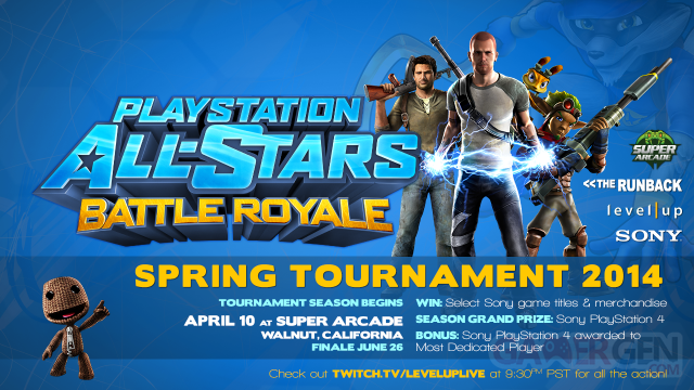 PlayStation all-stars battle royale tournoi