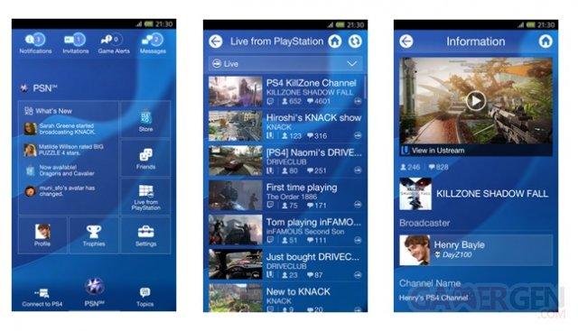 PlayStation App 1.60 04.01.2014
