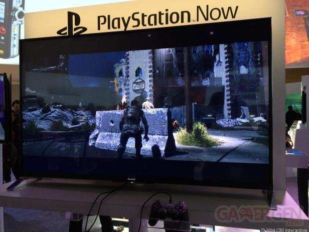 PlayStation Now Bravia