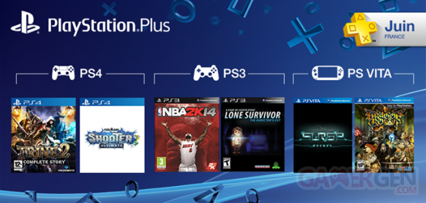 playstation plus les jeux offerts pour le mois de juin 2014 gamergen com. Black Bedroom Furniture Sets. Home Design Ideas