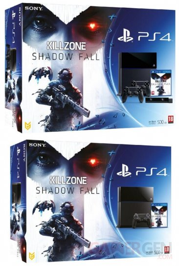 ps4 bundle killzone shadow fall