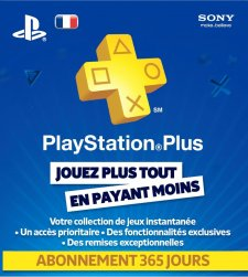psn playstation plus ps plus card carte