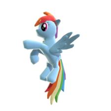 Rainbow Dash Familier