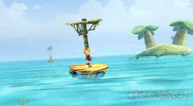 Rayman Legends - When Called Upon To Kill Bill Underwater image capture screenshot