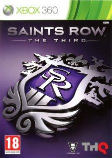 saints row the third jaquette xbox 360