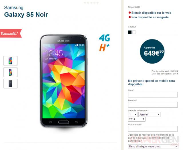 samsung-galaxy-s5-prix-bouygues-telecom