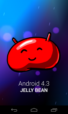 Screen_Android-4.3.0-Jelly-Bean_Logo-Haricot