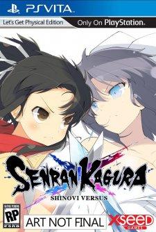 Senran Kagura Shinovi Versus jaquette nord americaine 09.05.2014