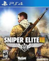 Sniper Elite III cover boxart jaquette us ps4