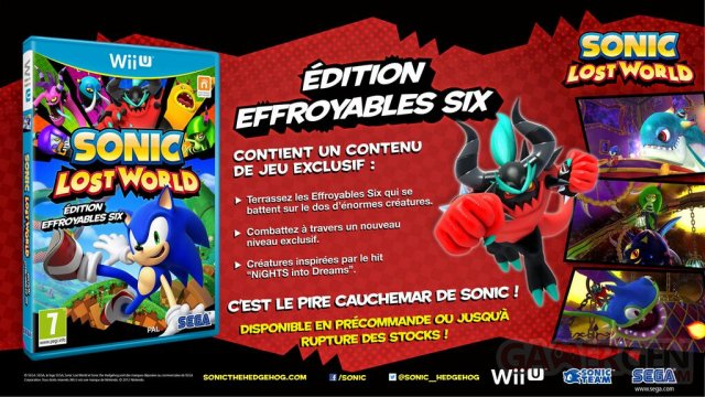 Sonic Lost World édition Effroyables Six 23.08.2013 (1)