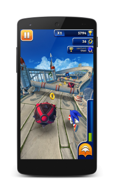 SonicDash_Screen1
