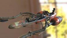 Star Wars Episode I Racer Unreal Engine 4 Sebulba 05