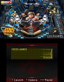 Star Wars Pinball - plateau Empire contre attaque