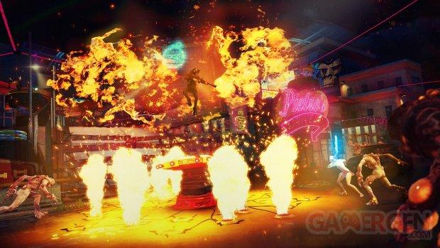 Sunset Overdrive E3 2014 captures montagnes russes 4