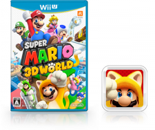 Super Mario 3D World jaquette + demat 02.09.2013.
