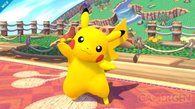 Super Smash Bros comparaison 3DS Wii U Pikachu 23.07.2013 (14)