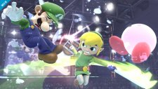 super smash bros. link cartoon wii u 001