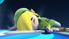 super smash bros. link cartoon wii u 006