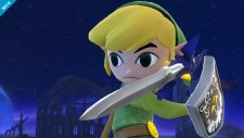 super smash bros. link cartoon wii u 008