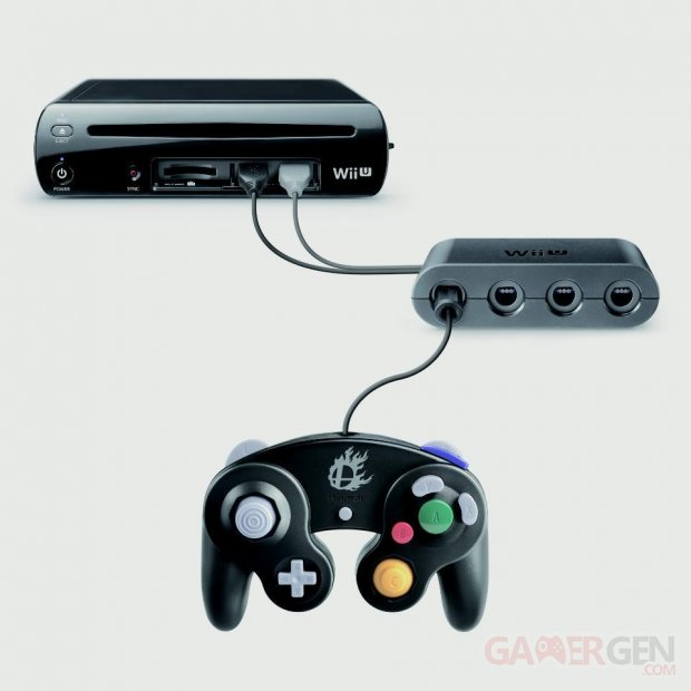 super-smash-bros-manette-gamecube-adaptateur
