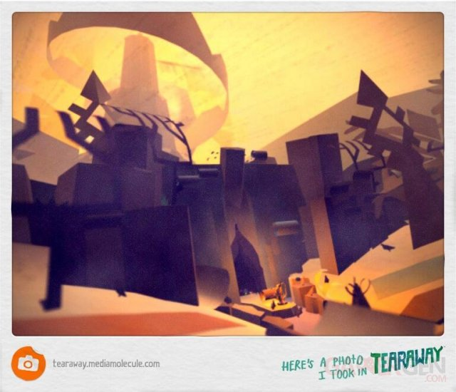 tearaway photo in game