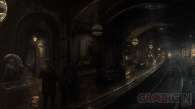 The Order 1886 artwork Me?tro Londres
