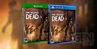 The Walking Dead saison 1 boites ps4 xbox one