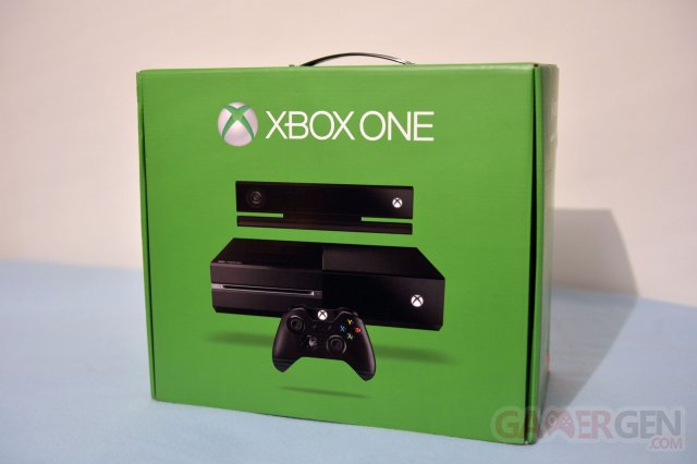 unboxing xbox one deballage 0074