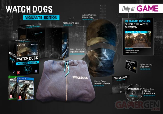 WatchDogsPremiumVigilanteEdition