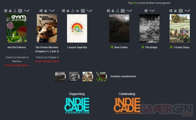 Weekly sale indie
