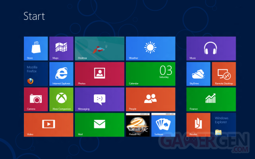 Windows 8 Modern UI