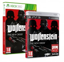 Wolfenstein the new order jaquettes ps3 xbox 360