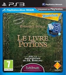 Wonderbook livre potions