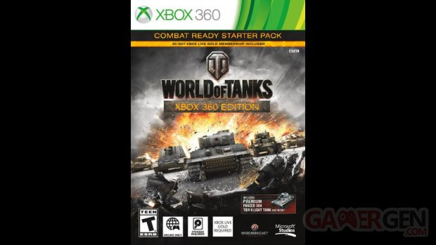 world of tanks  xbox 360 boite