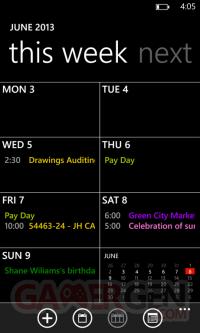 wp_calendar