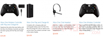 Xbox one accessoires reservations microsoft store