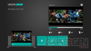 Xbox One DVR menu
