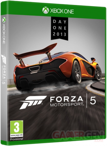 Xbox one forza motorsport 5 day one edition