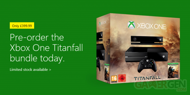 Xbox One titanfall bundle UK