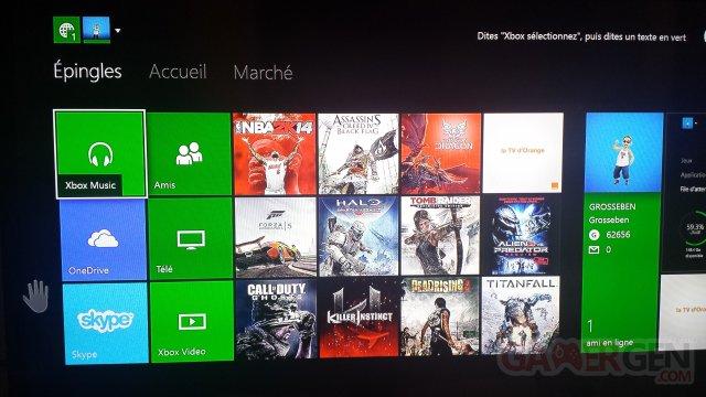 Xbox One TV Orange
