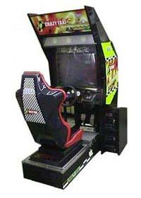 Crazy taxi cabinet