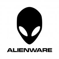 alienware logo black
