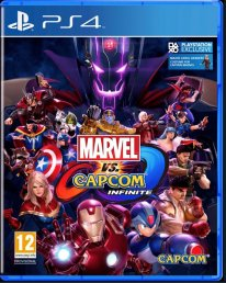 Marvel vs. Capcom Infinite Jaquette PS4