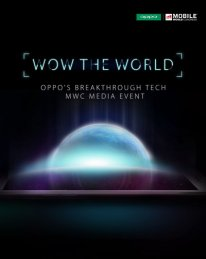 Oppo wow the world MWC 2016