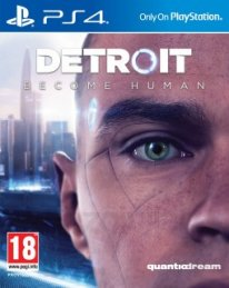 Detroit become human jaquette cover