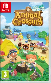 Animal Crossing New Horizons jaquette 20 02 2020