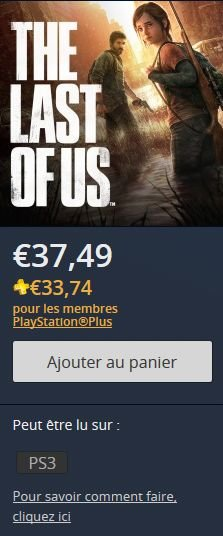 The Last of US ps store