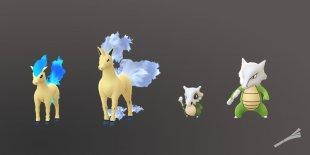 Pokémon GO Ponyta Osselait shiny chromatique